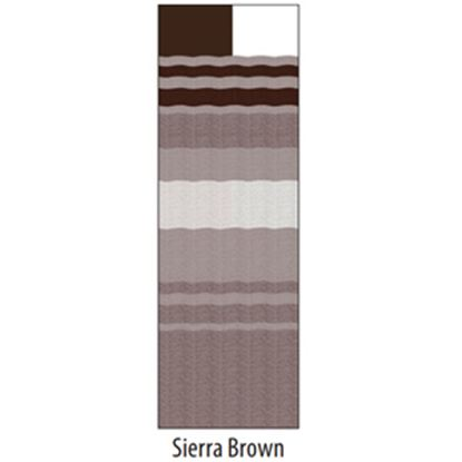 "Picture of Carefree  14' 2"" Siera Brown Dune Stripe w/ W WG Vinyl Patio Awning Fabric JU158A00 00-1646"