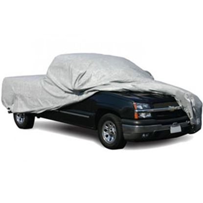 "Picture of ADCO SFS AquaShed (R) Gray 3 Layer Fabric Medium Cover For Short Bed 252""L Pick-Up Truck 12284 01-0006"