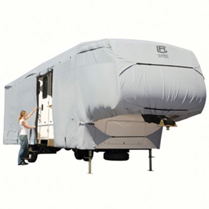 Picture of Classic Accessories PermaPRO (TM) Polyester Water Resistant RV Cover For 23-26' 5th Wheel Trailers 80-122-151001-00 01-0251