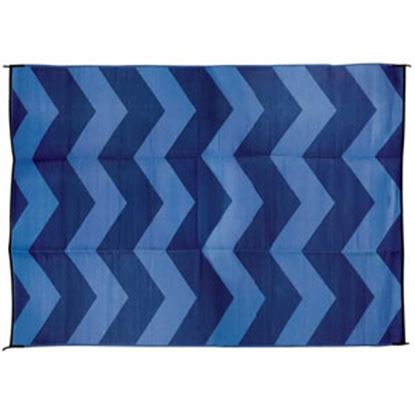 Picture of Camco  6' x 9'  Blue Camping Mat 42878 01-0748