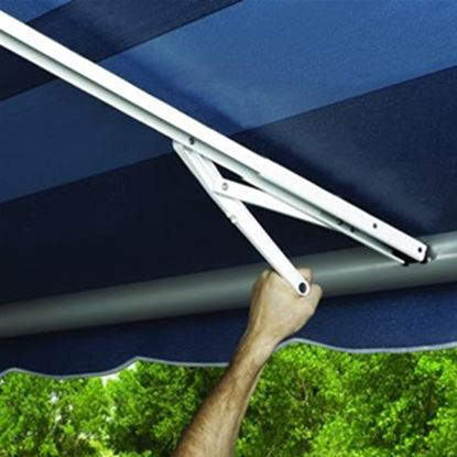 Picture of Carefree Rafter VI Satin/ Black Awning Rafter Arm 902850 01-0975