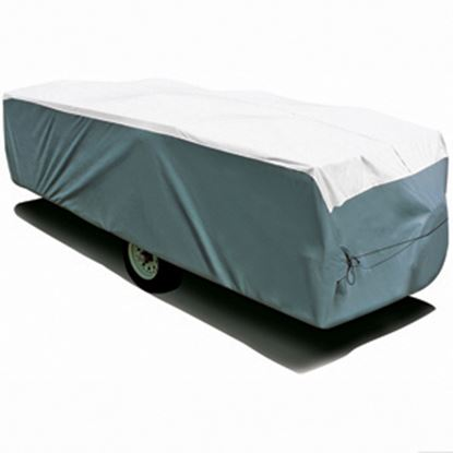 """Picture of ADCO Tyvek (R) Poly Cover For Up To 12' 1""""-14' Folding/ Pop Up Trailers 22893 01-1210"""