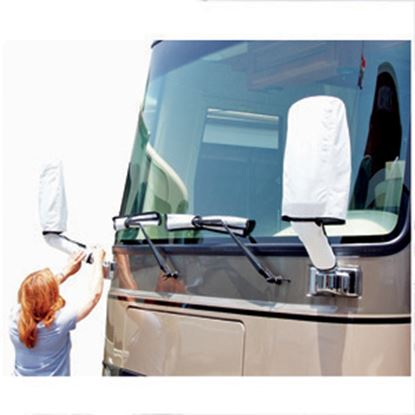 Picture of ADCO Tyvek (R) Windshield Wipers/Mirror Combo Cover 2478 01-1672