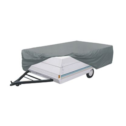Picture of Classic Accessories PolyPRO (TM) 1 Gray Polypropylene Cover For 10'-12' L Folding Camper Trailers 74303 01-3761