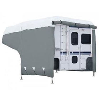 Picture of Classic Accessories PermaPRO (TM) Polypropylene Water Repellent RV Cover For 8-10' Pickup Campers 80-258-141001-00 01-4716