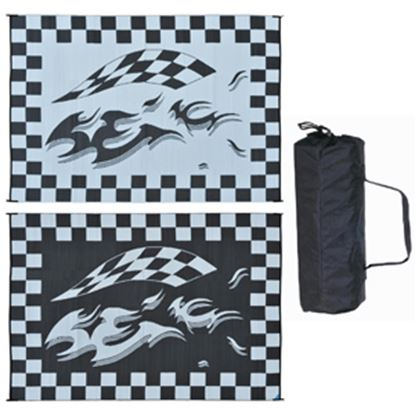 Picture of Ming's Mark  8' x 12' Black/White Reversible Camping Mat HA1 01-4988