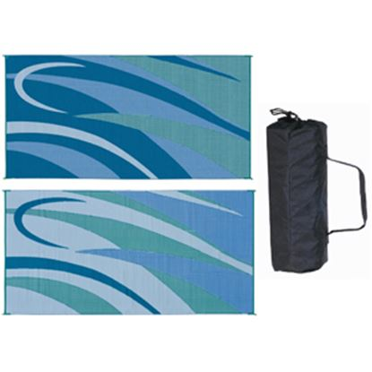 Picture of Ming's Mark  8' x 16' Blue/Green Reversible Camping Mat GB3 01-4995