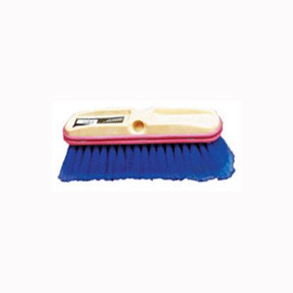 """Picture of Howard Berger HB Smith (R) Blue 10"""" Car Wash Brush Head Only 402410 02-0525"""