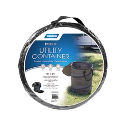 """Picture of Camco  19"""" x 24"""" Collapsible Utility Container 42893 03-1136"""