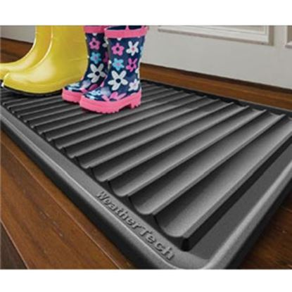 """Picture of Weathertech BootTray (TM) Black 16""""x36"""" Boot Tray IDMBT1B 04-2586"""