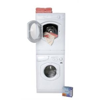 "Picture of Splendide Splendide (R) 24"" White Stackable Vented Clothes Dryer  07-0537"