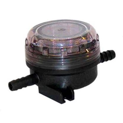"""Picture of Flojet  1/2"""" x 1/2"""" Hose Barb Fresh Water Pump Strainer For Flojet 01740002A 10-0717"""
