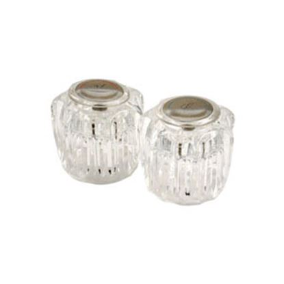 Picture of Phoenix Faucets  2-Pack Clear Acrylic Knob Style Faucet Handle for Catalina PF287031 10-0939