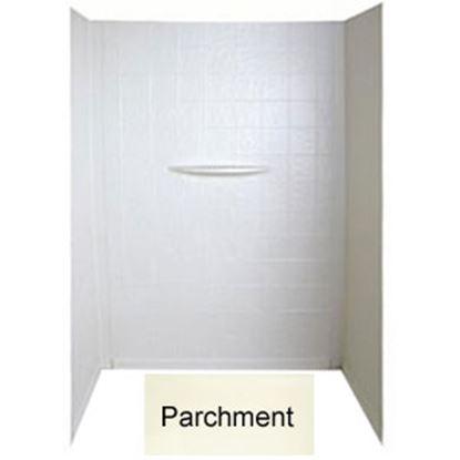 """Picture of Better Bath  1-Piece Parchment 24""""L x 40""""W x 56""""H Shower Surround 209468 10-1760"""