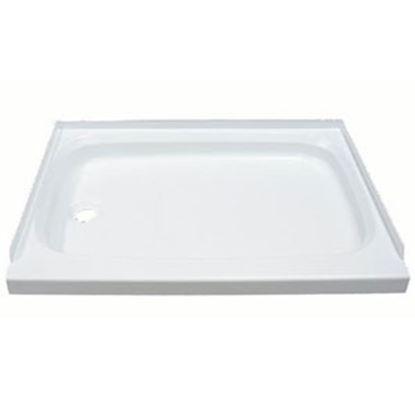 "Picture of Better Bath  Parchment 24""x40"" Rectangular Shower Pan 209498 10-1771"