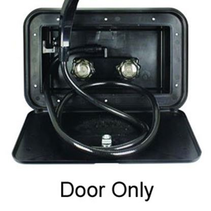 Picture of JR Products  Exterior Shower Box Door For JR Products# 5M103-A 620BK 10-1789