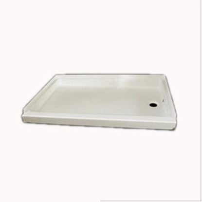 "Picture of Specialty Recreation  Parchment 24""x 32"" Center Drain Shower Pan SP2432PC 10-1825"