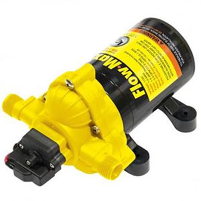 Picture of Lippert Flow-MaX 115V 6A 3.2 GPM 45 PSI Self-Priming Fresh Water Pump 689054 10-2017