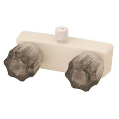 """Picture of Empire Brass  4"""" Biscuit Plastic Shower Valve w/Smoke Knobs U-YCJW53VBB 10-2402"""