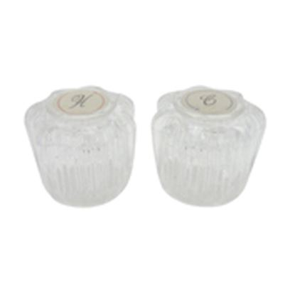 Picture of Dura Faucet  2-Pack Clear Acrylic Knob Style Faucet Handle DF-RKA 10-9009