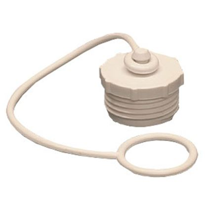"Picture of Aqua Pro  Fresh Water Hose Cap For 3/4"" Male Garden Hose w/ Lanyard 27839 11-0508"
