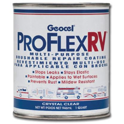 Picture of Geocel  1 Qt Can Crystal Clear Roof Coating GC23200 13-0798
