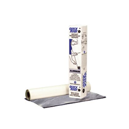 "Picture of Quick Roof  36"" x 33.5' Roll Aluminum Foil Roof Repair Tape QR36 13-1425"