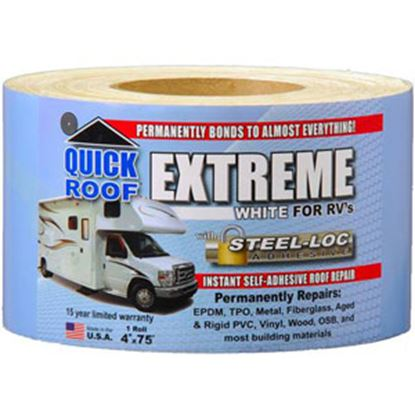 "Picture of Quick Roof  4"" x 75' Roll Roof Repair Tape UBE475 13-1601"