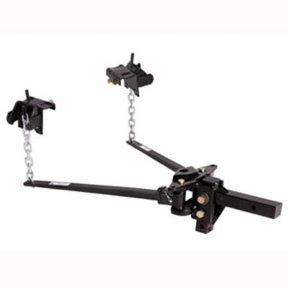 """Picture of Husky Towing  801-1200lb Trunnion Bar Weight Distribution Hitch w/ 10"""" Shank 31335 14-1066"""