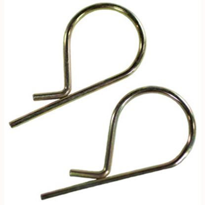 "Picture of Husky Towing  2-Pack 1-1/2""D x 3-1/4""L Hitch Pin Clip 34853 14-1195"