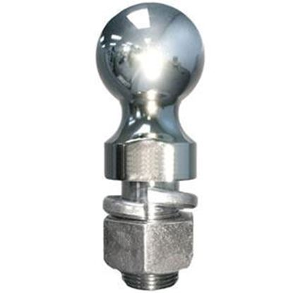 """Picture of Torklift SuperHitch 2-5/16"""" Trailer Hitch Ball w/ 1-1/4"""" Diam Shank M9008 14-1997"""