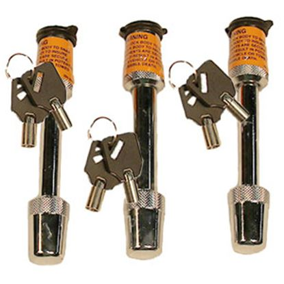 """Picture of Blue Ox  3-Pack 1/2"""" & 5/8""""D Trailer Hitch Pin BX88101 14-5215"""