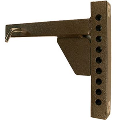 """Picture of Blue Ox  14""""L Weight Distribution Hitch Shank w/ 9 Mounting Holes BXW4003 14-5273"""