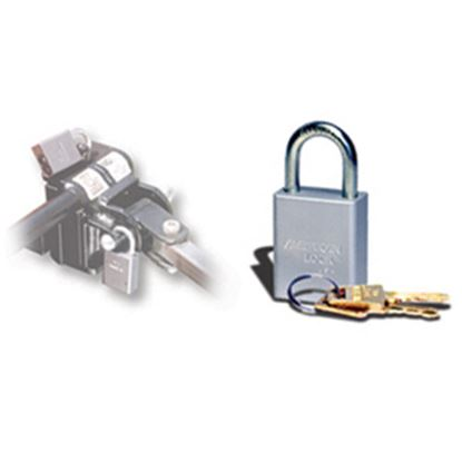 Picture of Roadmaster  4-Pack Steel Key Padlock 308 14-6353