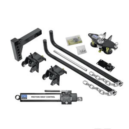 Picture of Pro Series Hitches  750 lb Round Bar Pro Series Wt Distribution Hitch 49902 14-7032