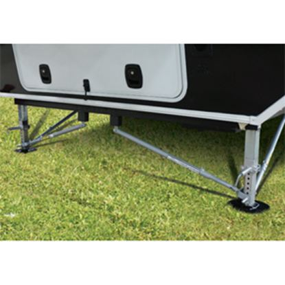 Picture of Lippert JT's Strong Arm Steel Bolt-On Trailer Stabilizer Jack Stand Lock Arm 191024 15-0359
