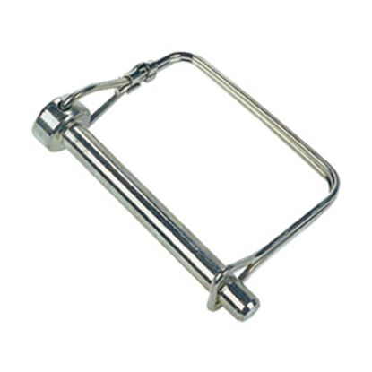 "Picture of JR Products  1/4"" x 1-3/8"" Steel Safety Lock Pin 01094 15-0736"