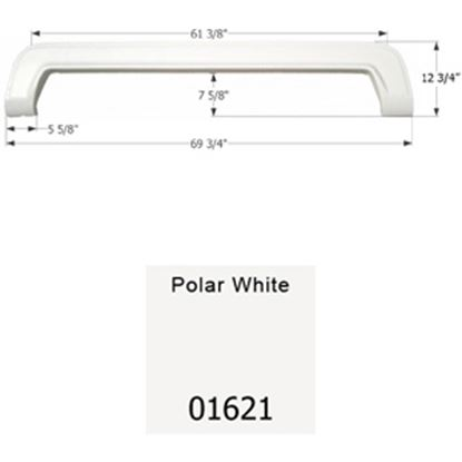Picture of Icon  Polar White Tandem Axle Fender Skirt For Thor Brands 01621 15-1625