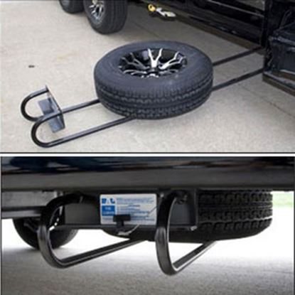 Picture of BAL Hide-A-Spare I-Beam Recessed Mount Tire Carrier 28217B 16-0046