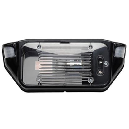 Picture of Starlights  Black w/Clear Lens LED Porch Light 016-SL1000B 18-0049