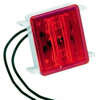 Picture of Bargman 86 Series Red LED Side Marker Light 47-86-410 18-0102