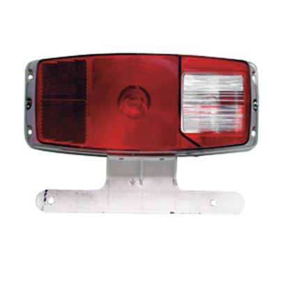 Picture of Clartec  #340 Tail Light w/ License Bracket MFTL340 18-0270