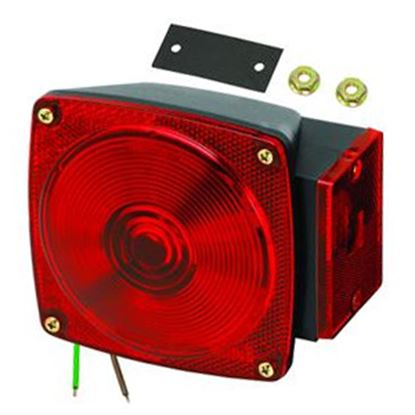 "Picture of Bargman  Red 5-1/4""x4.66""x3.76"" Tail Light 2523073 18-0280"