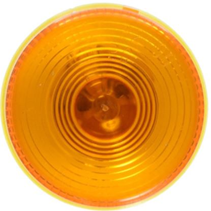"Picture of Peterson Mfg.  Amber 2-1/2"" Dia Clearance Side Marker Light V142A 18-0492"