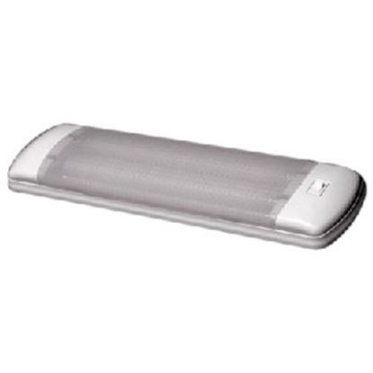 Picture of Arcon Optic Series White w/Clear Lens Fluorescent 8W Interior Light w/Switch 13812 18-0507