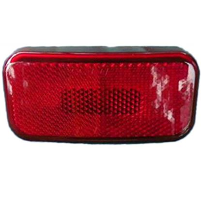 """Picture of Command  Amber 3-7/8""""L x 1-7/8""""W x 1-3/8""""H Clearance LED Side Marker Light 003-58LB 18-0871"""