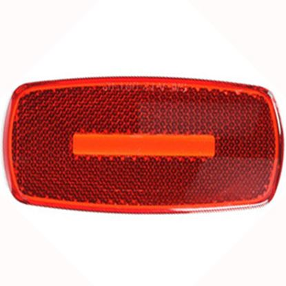 Picture of Optronics  Red Reflex/ Clearance/ Side Marker Light Lens A32RBP 18-1242