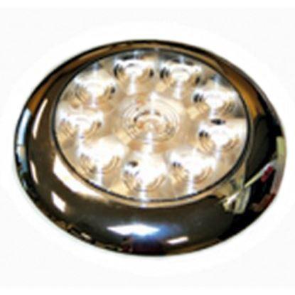 "Picture of Diamond Group  Single 5-5/8""Diax3/4""D White 0.14 Amps LED Utility Light DG52528VP 18-2239"