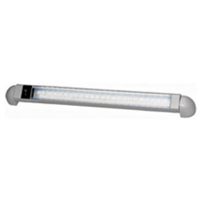 "Picture of Peterson Mfg. Great White 12""L Bar White 24 LED Panel Interior Light V369S 18-2247"