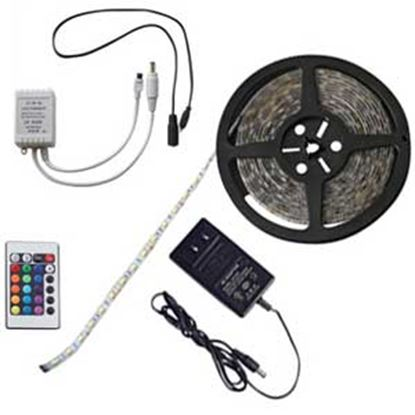 Picture of Diamond Group  16'L 16-Color LED Rope Light DG52688 18-4023